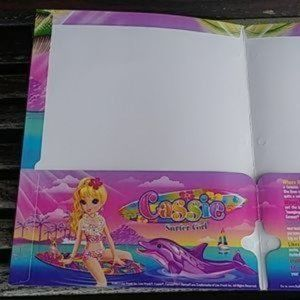 Lisa Frank Office - Lisa Frank Cassie School Folder